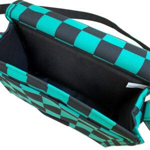 綠黑方格背包-Pangolin