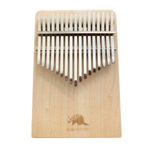 Pangolin 楓木 板式實木拼接卡林巴拇指琴 銀霧鋼片