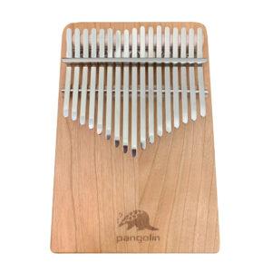 Pangolin 櫻桃木 板式實木拼接卡林巴拇指琴 銀霧鋼片