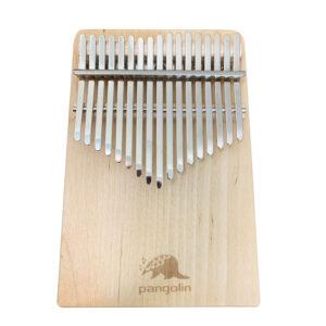 Pangolin 白樺木 板式實木拼接卡林巴拇指琴 霧銀鋼片