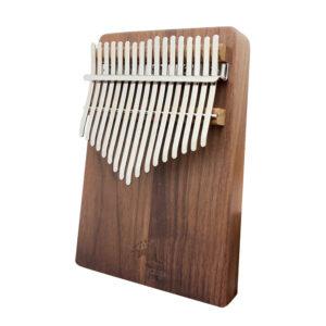 Pangolin 胡桃木 板式實木拼接卡林巴拇指琴 銀霧鋼片